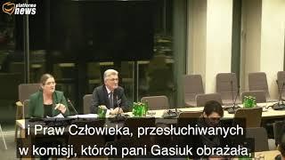 Fragment wczorajszych obrad sejmowej komisji ws. kandydatur PiS do Trybunału Konstytucyjnego.