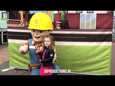 Video van Bob de Bouwer -  Event 2 met Meet & Greet | Attractiepret.nl