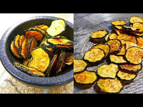 Zucchini Chips | 3 Different Methods TESTED | Which Way Is The Crispiest