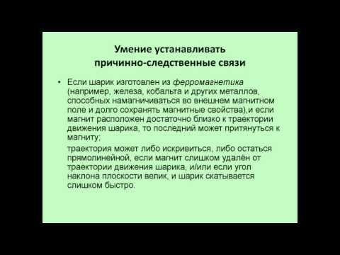 Научно-методическое обеспечение преподования курса физики в основной школе по УМК А. В. Перышкина
