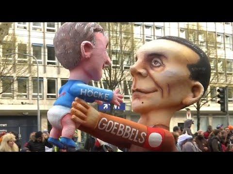Rosenmontagsumzug: Klare politische Ansagen auf Düssel ...