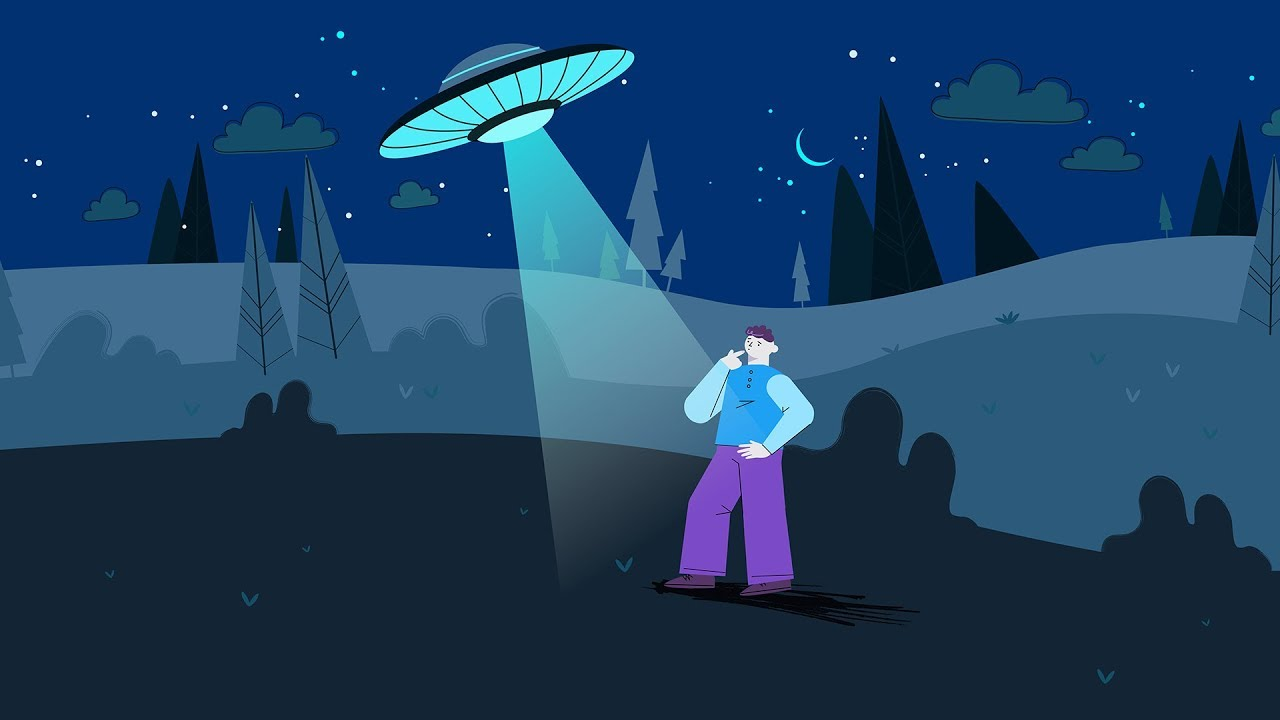 UFO Animated Story
