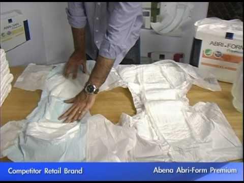 Abena Adult Diaper Comparison Test. Abri-Form is a full range of all-in-one ...