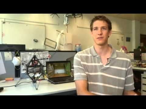 perching robot - August 5, 2013 - Reuters reports on a flying robot navigating autonomously just based on the sense of touch, and able of perching on flat walls. Find more in...