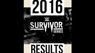 Nonton WWE SURVIVOR SERIES 2016 RESULTS Film Subtitle Indonesia Streaming Movie Download