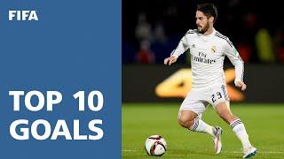 Video TOP 10 GOALS: FIFA Club World Cup Morocco 2014 MP3, 3GP, MP4, WEBM, AVI, FLV Juni 2017