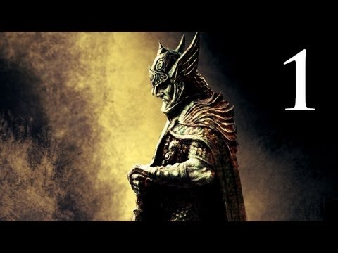 Elder Scrolls V: Skyrim – Walkthrough – Part 1 – Character Creation (Skyrim Gameplay)