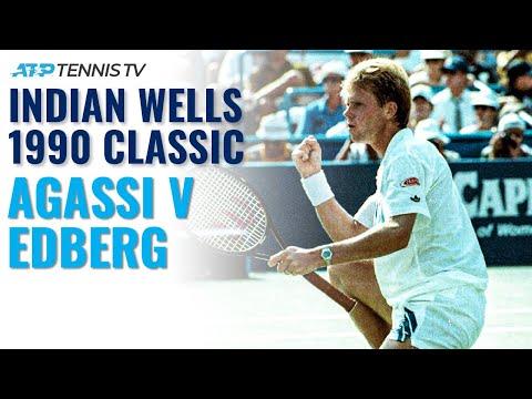 Extended Highlights: Stefan Edberg v Andre Agassi   Indian Wells Final 1990 - Thời lượng: 17 phút.