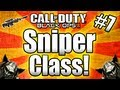 "★Black Ops 2 - ""BEST SNIPER CLASS"" - Full Setup! (Call of Duty Black Ops 2 Multiplayer Gameplay)"
