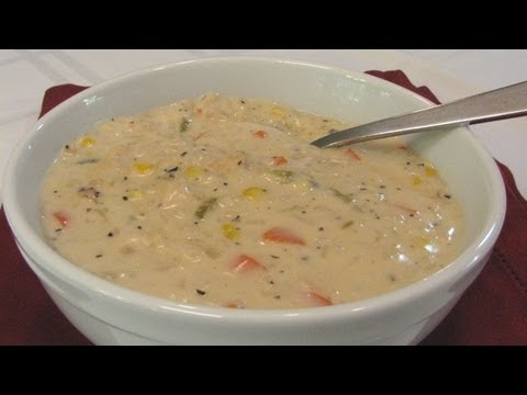Creamy Chicken and Rice Soup — Lynn's Recipes