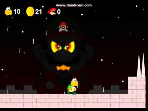 a koopa's revenge mario's castle FINAL BOSS