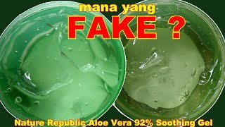 Video NATURE REPUBLIC ALOE VERA 92% SOOTHING GEL FAKE VS ORIGINAL KOREA | Maria Soelisty MP3, 3GP, MP4, WEBM, AVI, FLV Maret 2019