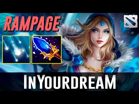 inYourdreaM Crystal Maiden RAMPAGE Dota 2