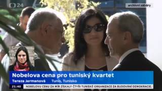 Nobelova cena pro tuniský kvartet