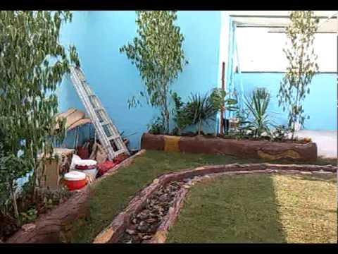 حديقة في السطح 1