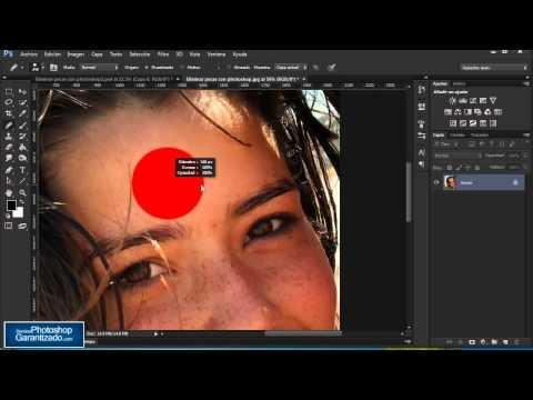 Corrige las manchas de tu cara con Photoshop - Tutorial de Photoshop