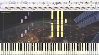 Время, вперёд! - Г. Свиридов (Ноты и Видеоурок для фортепиано, баяна) (piano cover)