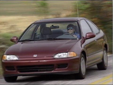 Honda 1993 civic снимок