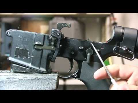 m16 - This video is about how a machine gun, in particular, an AR15 M16 M4 full auto, select fire, carbine functions and the differences between it an a semi auto ...