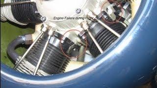 RC Giant COMARF Corsair Moki 250cc Engine Failure 2013 June