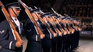 Edinburgh (IN) United States  city pictures gallery : The United States Air Force Honour Guard - Edinburgh Military Tattoo 2015