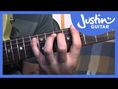 12 Bar Blues Riff Variations (Blues Rhythm Guitar – Guitar Lesson ...