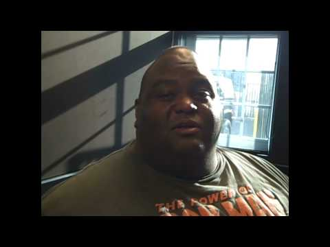 Comedian LaVell Crawford hangs with The PMC...