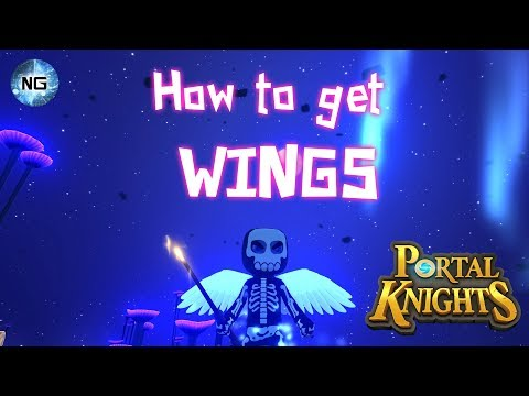 Portal Knights - How to get the wing's cape.