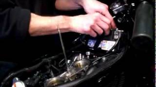 6. Harley V-rod Battery Remove and Replace Pt 1.avi