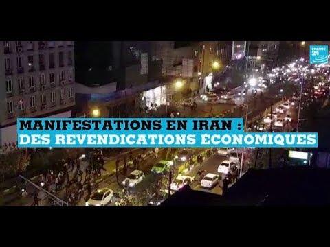 Manifestations en Iran : des revendications économiques