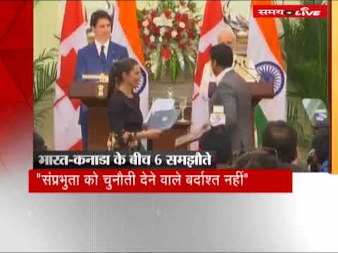 PM Modi met Canadian PM Justin Trudeau, India-Canada sign six agreements