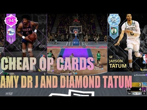 DIAMOND TATUM AMETHYST DR J GLITCHY GAMEPLAY