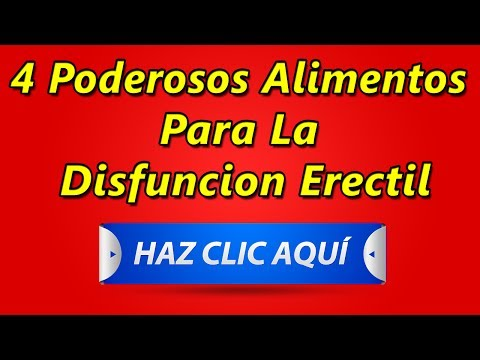 Remedios naturales disfuncion erectil