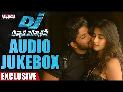 DJ - Duvvada Jagannadham Full Songs Jukebox  || Allu Arjun, Pooja Hegde, Harish Shankar, DSP