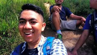 Track hiking puncak gunung manglayang bandung