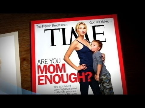 'Time' Magazine Cover of Breastfeeding: Mom Threatened