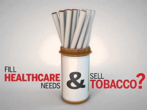 Stop Selling Tobacco Products in Pharmacies and Drug Stores