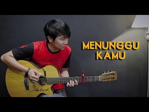 gratis download video - Anji-Menunggu-Kamu--Nathan-Fingerstyle--Guitar-Cover--NFSVLOG