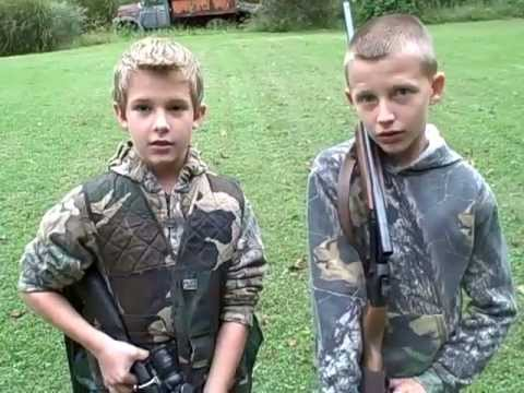 0 Ethan Clevenger on his 1st Squirrel hunt, with Reed Slone 2011