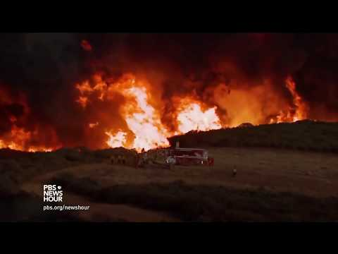 Climate change is part of California's perfect recipe for intense wildfire