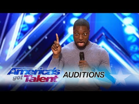 Preacher Lawson: Standup Delivers Cool Family Comedy - America's Got Talent 2017