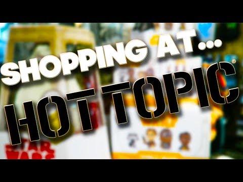 SHOPPING AT - HOT TOPIC - ORLANDO
