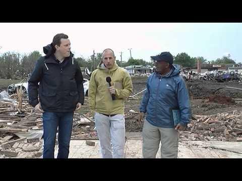 Al Roker Barking And Making Jokes At Oklahoma Tornado Site