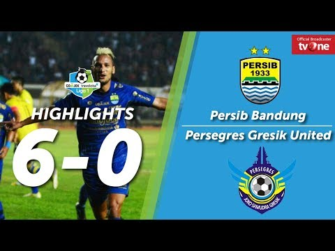 Persib Bandung vs Persegres Gresik United: 6-0 All Goals & Highlights