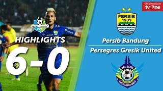 Download Video Persib Bandung vs Persegres Gresik United: 6-0 All Goals & Highlights MP3 3GP MP4