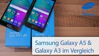 Samsung Galaxy A5 Und Galaxy A3 Vergleich Deutsch HD