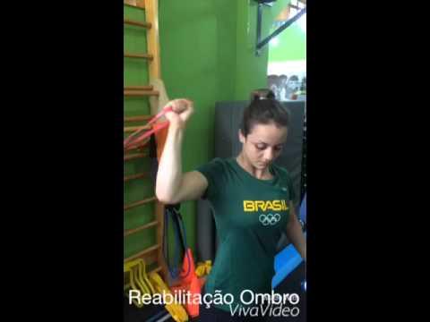 Reabilitação da atleta da seleção brasileira Nathalia Brigida.