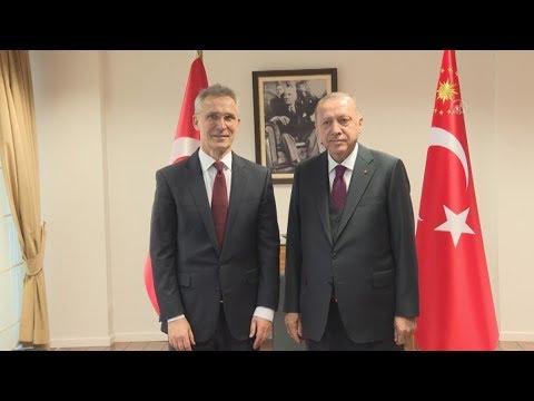 Τουρκία-ΝΑΤΟ: Ο πρόεδρος Ερντογάν ζήτησε «απτή στήριξη» από το ΝΑΤΟ