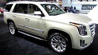 2015 Cadillac Escalade - Exterior And Interior Walkaround - 2014 Chicago Auto Show