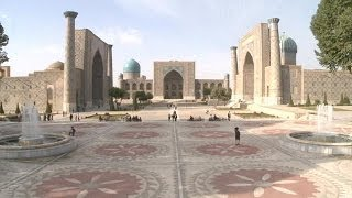 Samarkand Uzbekistan  city photos : Uzbekistan's second largest city Samarkand - a Silk Road treasure - life